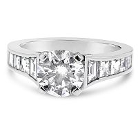 TDR3/ Platinum Diamond Engagement Ring