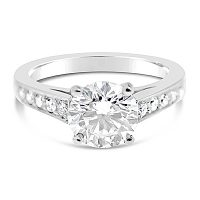 TDR5/ Platinum Diamond Engagement Ring