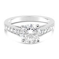 TDR5/ Platinum Diamond Engagement Ring