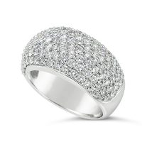DWR19/ 18ct White Gold Diamond Band