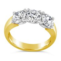 TDR8/ 1.5ct 18ct Gold Trilogy Engagement Ring