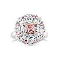 DVR6 / 3ct Argyle Pink Diamond Ring