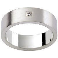 GW2 / 18ct white gold diamond set wedding ring