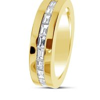 DWR7/ 18ct Bagette Diamond Wedding Ring
