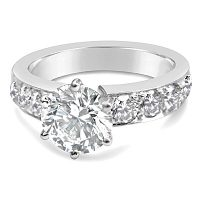 TDR17/ Platinum 2ct Diamond Engagement Ring