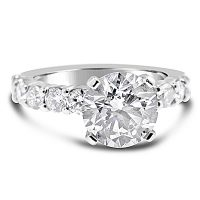 DVR17 / Platinum TripleEx H&A™ 1.5ct Diamond Engagement Ring