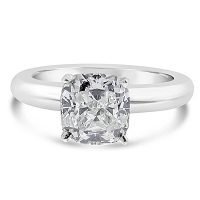 FSDS3/ Platinum 1.5ct Cushion Solitaire