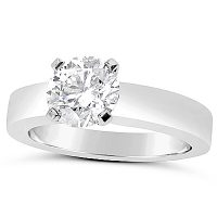 TDR22/ Platinum 1ct Diamond Solitaire