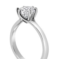 TDR14/ Platinum 1ct Diamond Solitaire