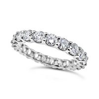 DWR11/ Platinum 2ct Diamond Wedding Ring