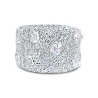 FSDR29/ 18ct White Gold 6ct Diamond Ring
