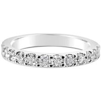 DWR10/ Platinum Diamond Wedding Ring