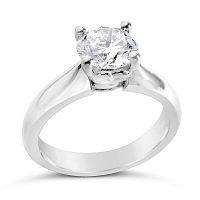TDR28/ Platinum 1.1ct Diamond Solitaire
