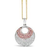 APDJ/8 18ct Argyle Pink Diamond Pendant