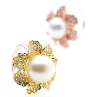 PJ10 / 18ct South Sea Pearl and Sapphire Rings