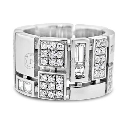 DWR2/ 18ct White Gold Diamond Wedding Ring