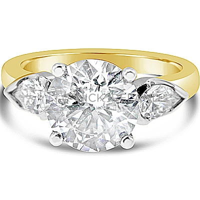 TDR4/ 2ct 18ct Gold Diamond Engagement Ring