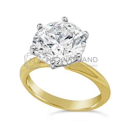 TDR49/ 5.56ct Diamond Solitaire