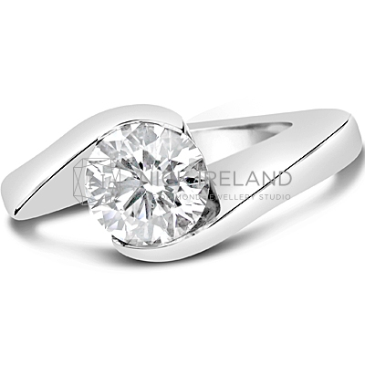 TDR16/ Platinum 1ct Diamond Solitaire