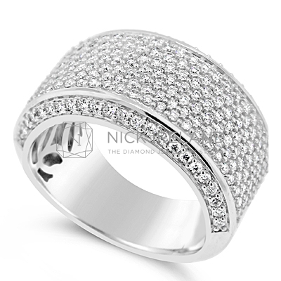 DWR12/ 18ct White Gold Wedding Ring