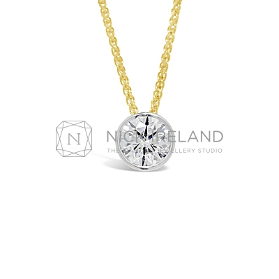DBP2/ 18ct Diamond Pendant