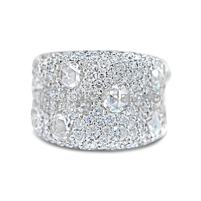 FSDR29/ 18ct White Gold 6ct Diamond Ring