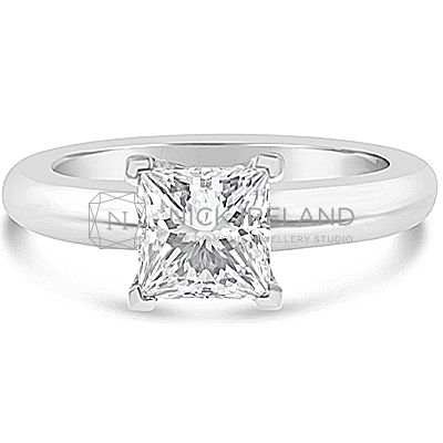 FSDS6/ 18ct White Gold 1ct Diamond Solitaire
