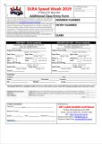 Additional Entry Form