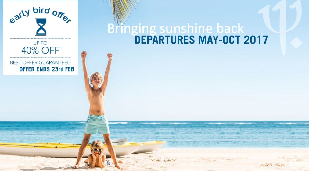 40% off your next Club Med All-inclusive holiday