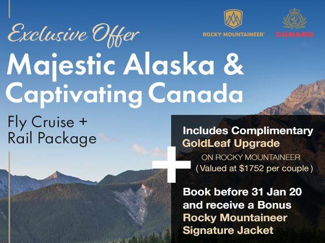Majestic Alaska & Captivating Canada