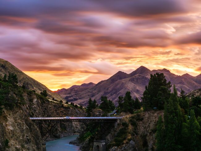 Scenic Roads of the South Island