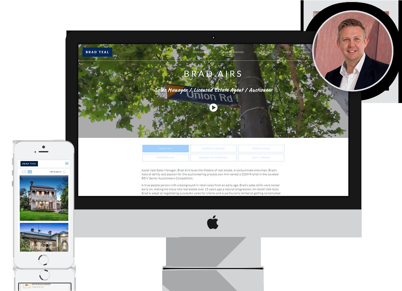 Agent Website Homepage1