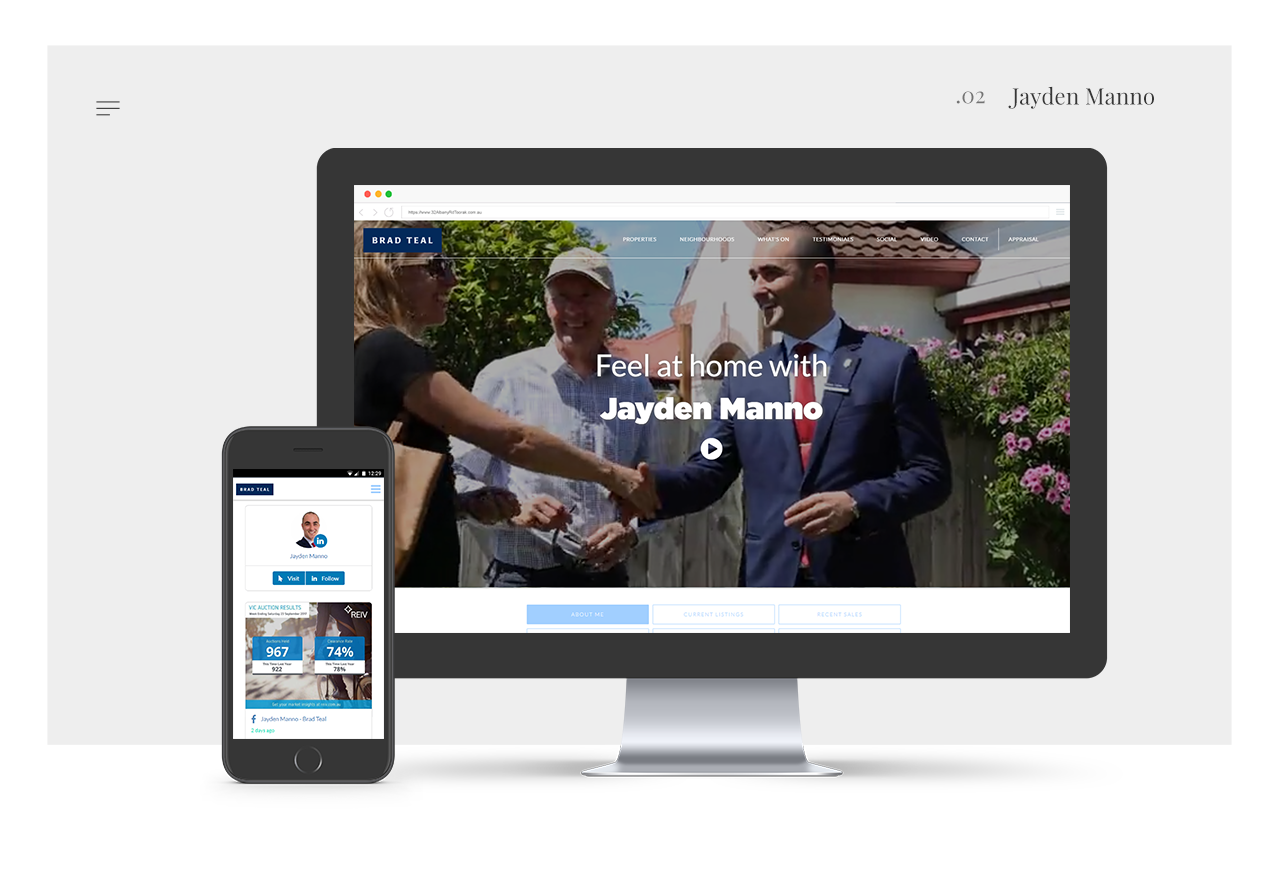 Jayden Manno - Agent Real Estate Website