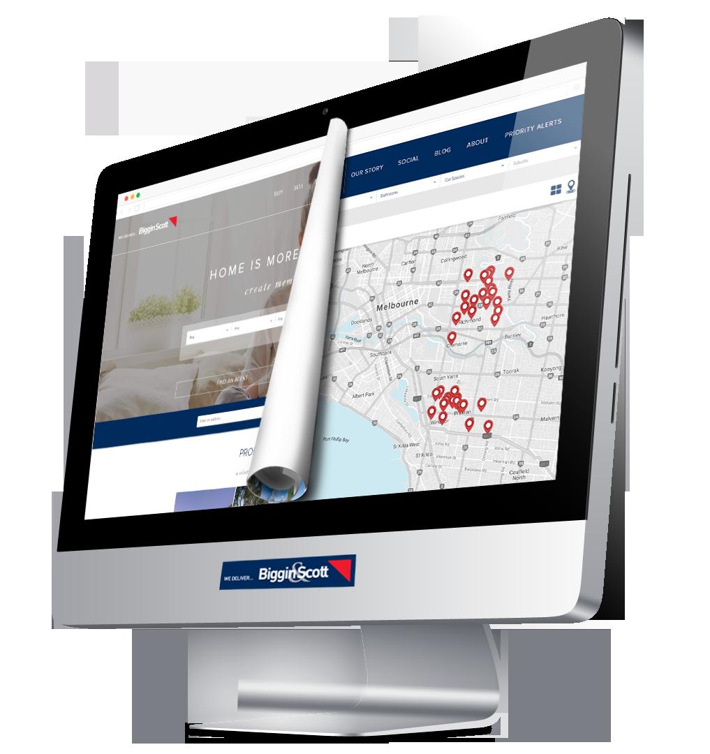 Biggin & Scott Real Estate Website Design