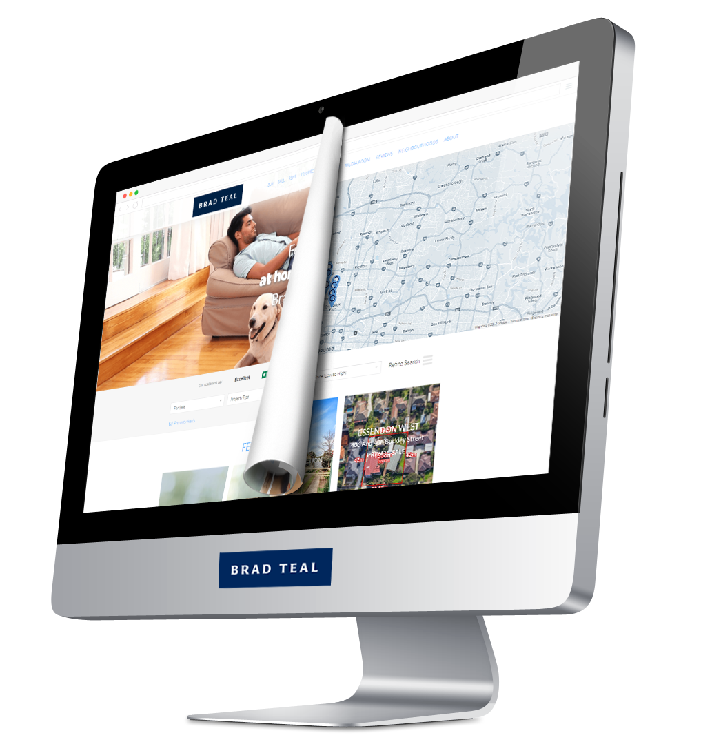Brad Teal Real Estate Website Design