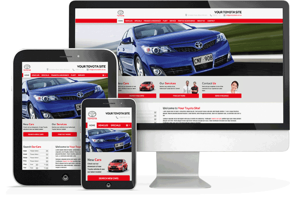 Franchise Websites - Ken Mills Toyota