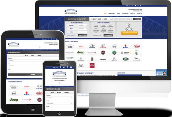 Custom Functionality—Peter Warren Automotive