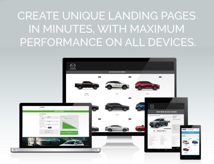 Create Unique Landing Pages