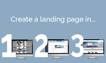 3 Simple Steps to Create a Landing Page