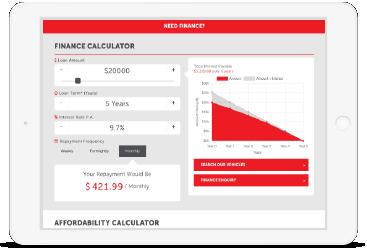 Finance Calculator_Franchise Websites