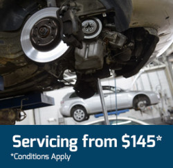 Car Servicing From $145