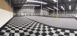 Swisstrax Ribtrax Tile flooring