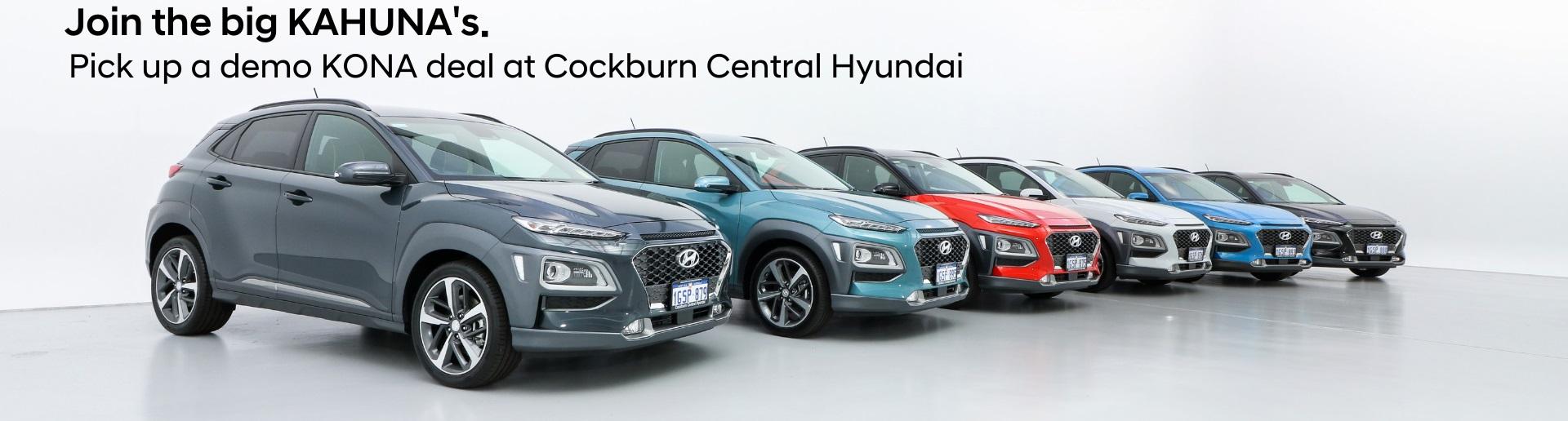 Hyundai KONA Demo Sale