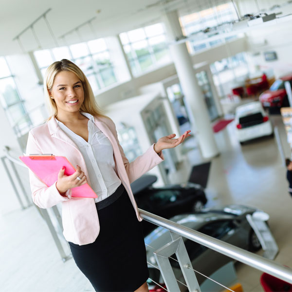 Female Start A Career At Car Sales Perth