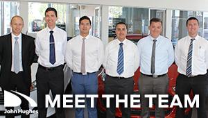 John Hughes Ford dealership team