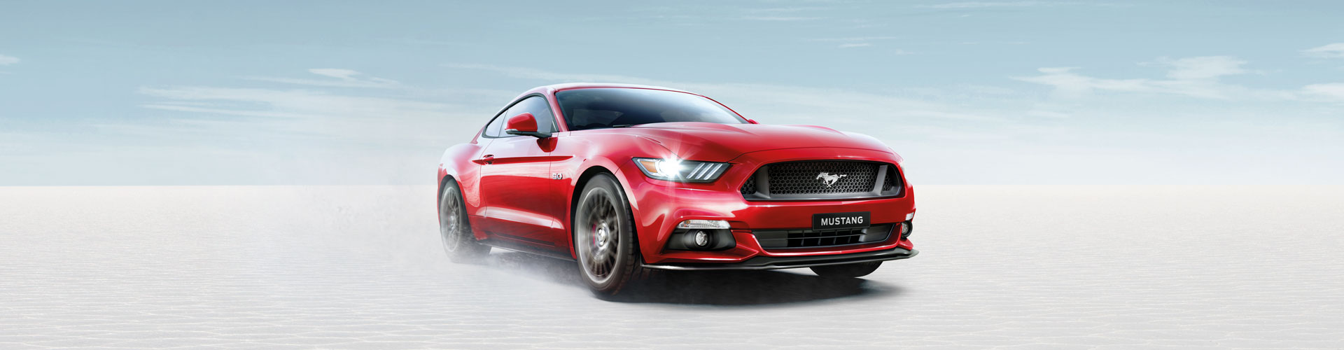 red ford mustang gt fastback