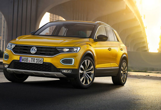 VW Golf SUV Comes As The 2018 VW T-Roc >> 2018 Volkswagen T Roc Revealed John Hughes