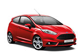ford-fiesta-ST-car-model-red