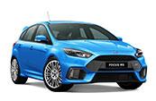 blue-ford-focus-RS-car-model