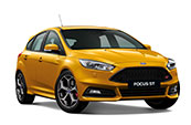 ford-focus-ST-yellow-car-make-model
